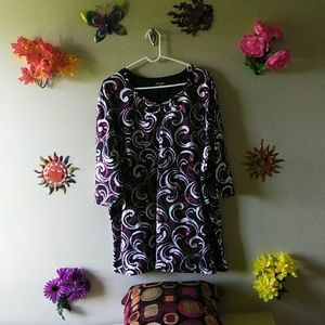 Womens jazzy tunic